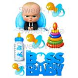 Вафельная картинка Baby Boss